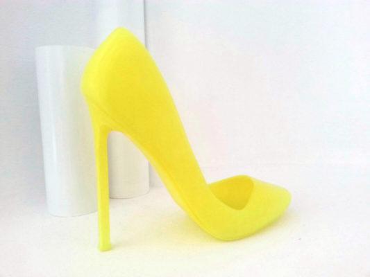Tacco 12 - PLA giallo fluo