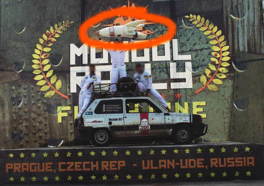 MONGOL RALLY ARRIVO